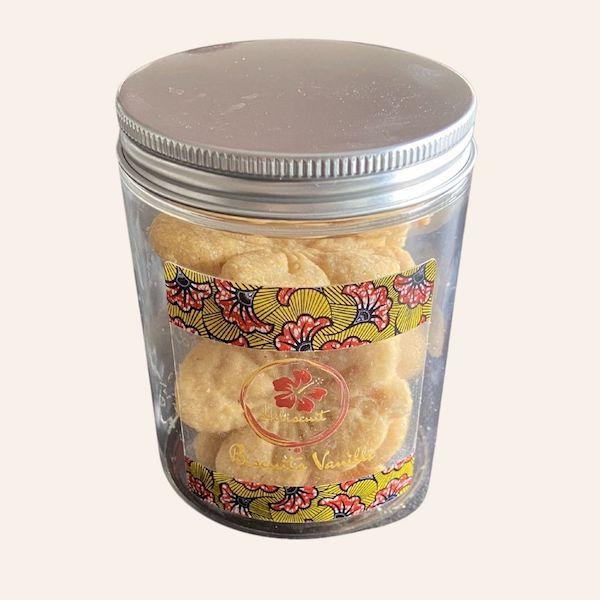 Biscuits vanille hibiscuit