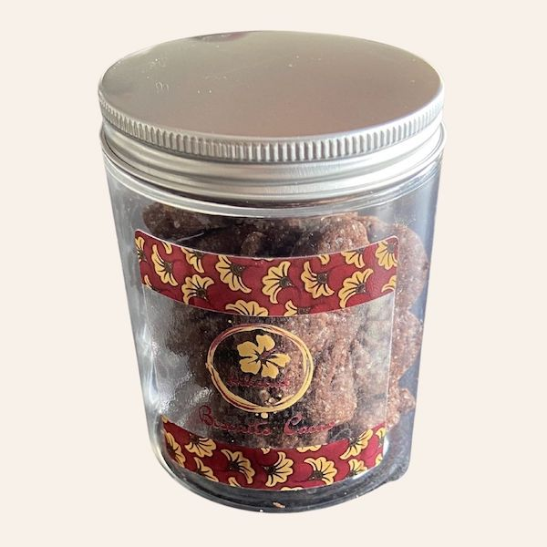 Biscuit au cacao hibiscuit