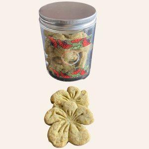 Biscuits au moringa hibiscuit
