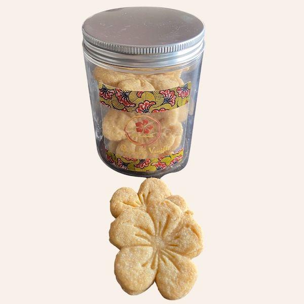 Biscuits à la vanille hibiscuit